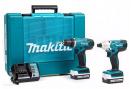 Zestaw COMBO DK1497 MAKITA (DF347,BTD125,DC18WA,2x1415G) + walizka
