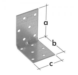 KMP - kątownik montażowy z przetłoczeniem