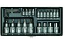 Zestaw kluczy nasadowych TX (23102)
